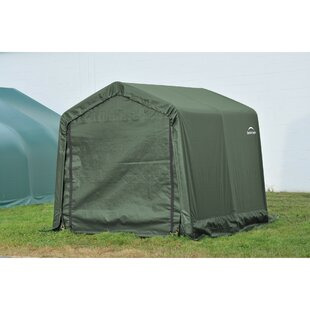 ShelterCoat 10 x 12 ft. Garage Round Green STD by ShelterLogic