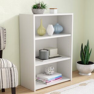 White Wicker Bookcase