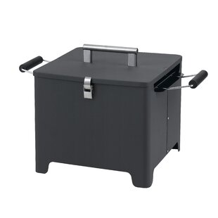 Chill and Grill Charcoal Grill with Handle by Tepro