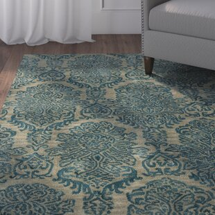 Look for Allenport Hand-Tufted Blue Area Rug By Charlton Home