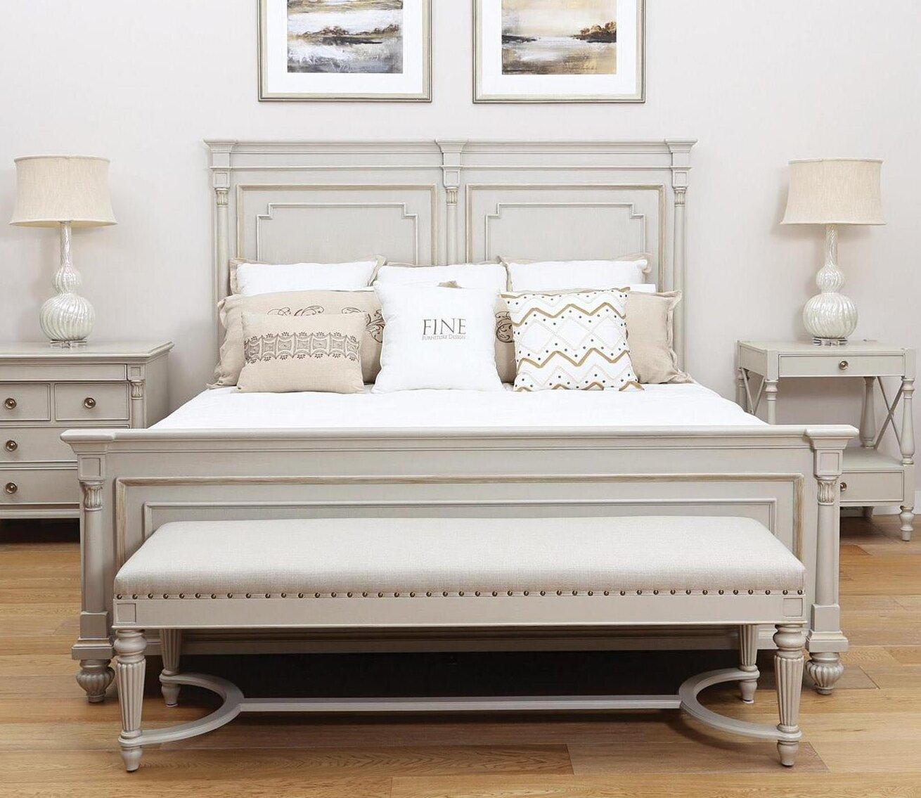 - Fine Furniture Design Camden Queen Sleigh Bed Wayfair