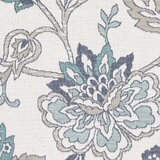 Amherst Floral Aqua/Taupe Area Rug bySol 72 Outdoor