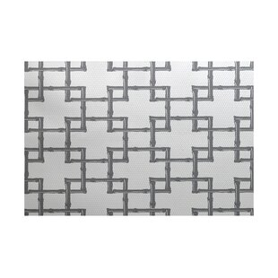 Price Check Connelly White Indoor/Outdoor Area Rug By Bay Isle Home