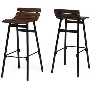 Algoma Wooden 30 Bar Stool (Set of 2) Brayden Studio