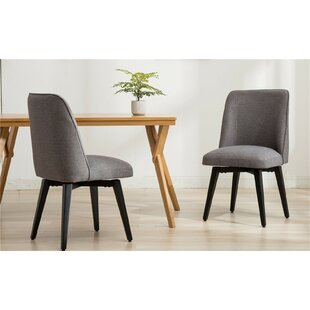 Alma Upholstered Dining Chair (Set of 2) Wrought Studio