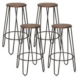 26 Bar Stool (Set of 4) by Williston Forge