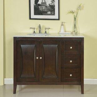 45 Single Sink Cabinet Bathroom Vanity Set
