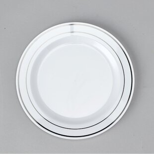 Plastic Disposable Dinner Plate (Set Of 180) by Bala Ceiling Fans Best #1