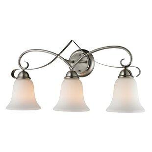 Compare & Buy Malinda 3-Light Vanity Light By Fleur De Lis Living