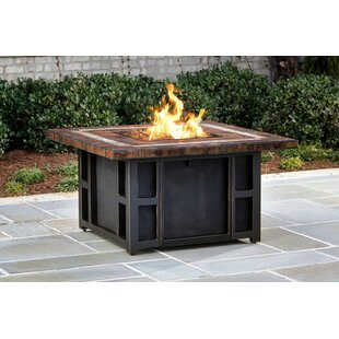 Oakland Living Goldie's Steel Propane Fire Pit Table
