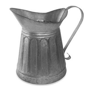 Cazares Vintage Metal Milk Pitcher