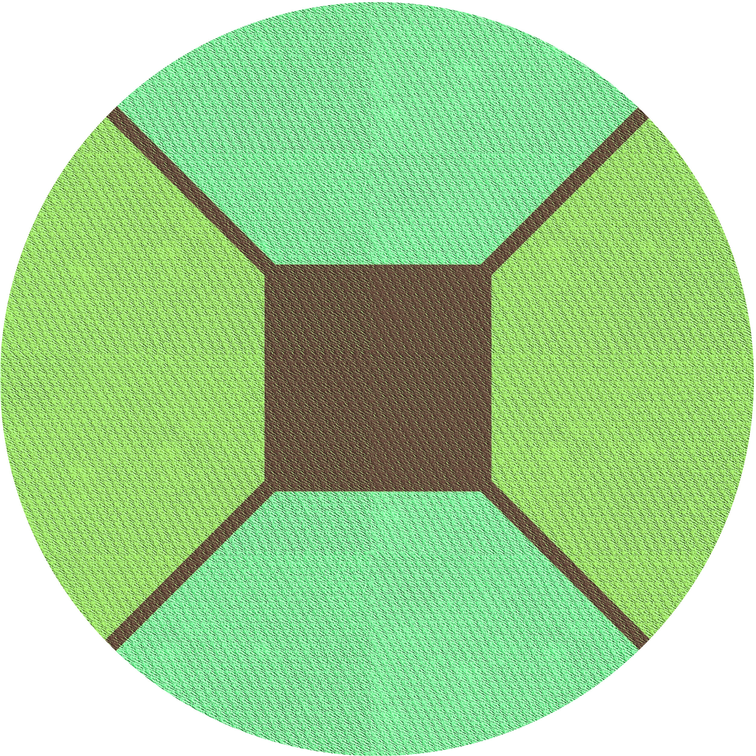 East Urban Home Plimpton Geometric Green Area Rug Wayfair
