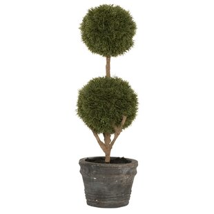 topiary artificial plants & trees | wayfair.co.uk Artificial Bushes and Trees