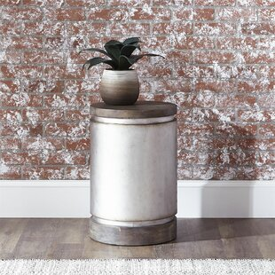Great choice Ronin Drum End Table by 17 Stories Reviews (2019) & Buyer's Guide