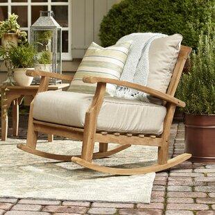 Summerton Teak Rocking Chair