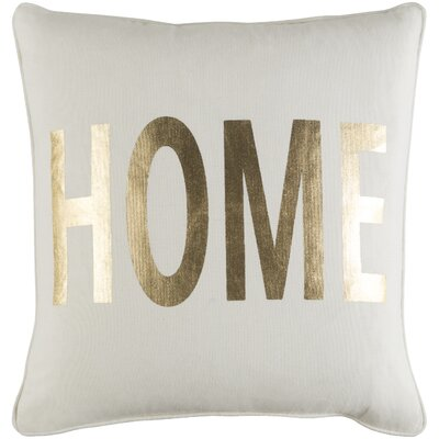 Ivy Bronx Yahya Home Cotton Throw Pillow Cover