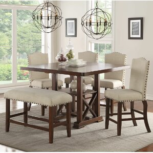 dining room chairs counter height. chevaliers 6 piece counter height dining set room chairs t