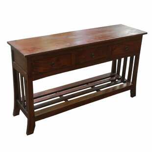 Gasaway Wooden Console Table