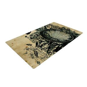 Frederic Levy-Hadida Sound of Nature Beige/Black Area Rug