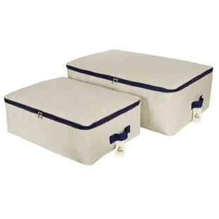 Shopping for Foldable Heavy Fabric 2 Piece Underbed Storage Set By Rebrilliant