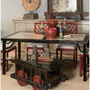 Classic Marble Chinese Coffee Table by Sarreid Ltd