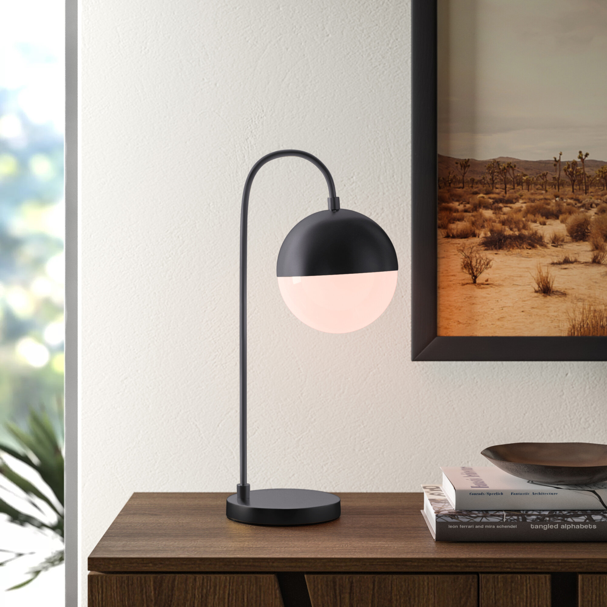 Desk Mid Century Modern Table Lamps You Ll Love In 2020 Wayfair