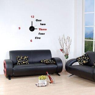 Modern Home 11 DIY 3D Wall Clock