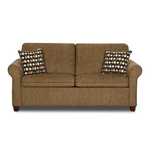 Simmons Upholstery Crittendon Sleeper Loveseat by Red Barrel Studio