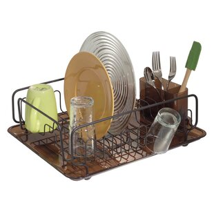 Eisenhart Kitchen Dish Drainer Rack with Tray