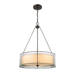 Brayden Studio Cyrene 3-Light Drum Pendant