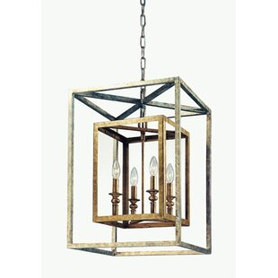 Darby Home Co Tennille 8-Light Square/Rectangle Chandelier