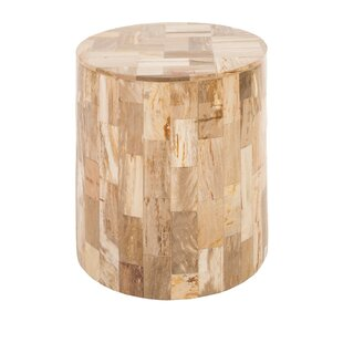 Petrified Laminate Accent Stool by Phillips Collection