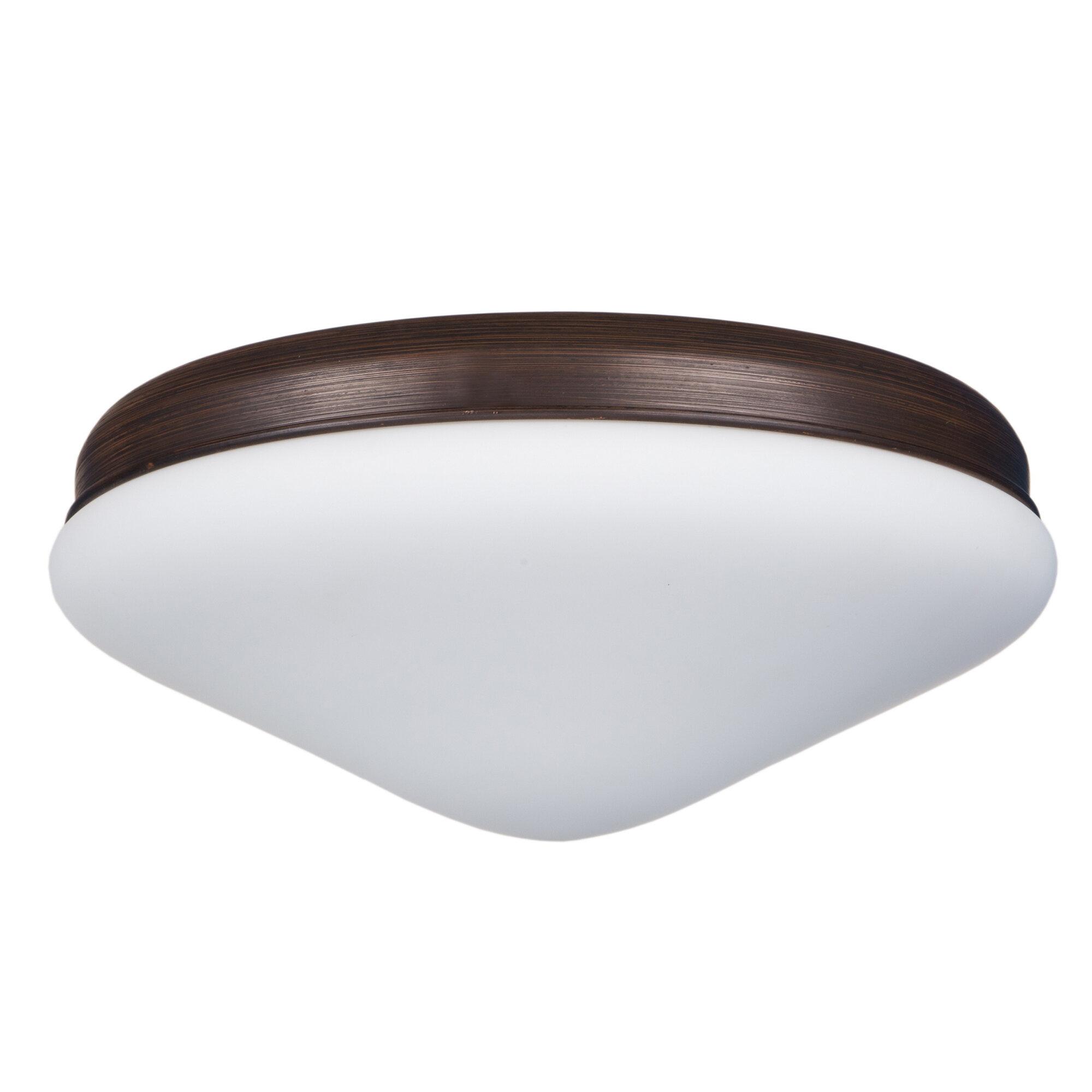 Y Decor Big Joe 2 Light Schoolhouse Ceiling Fan Light Kit