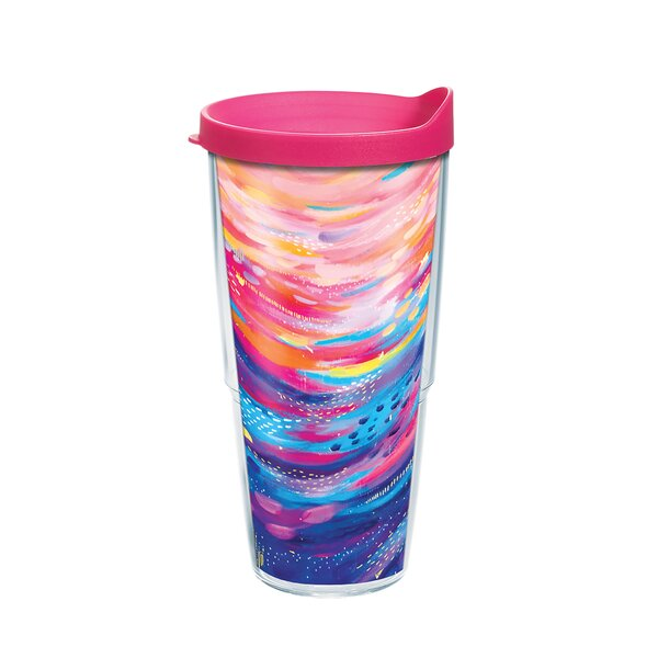 Tervis Tumbler Tervis Etta Vee Happy Abstract 24 Oz Insulated Travel Tumbler Wayfair