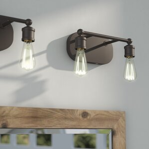 Bathroom Lights Wayfair oil rubbed bronze bathroom vanity lighting | wayfair