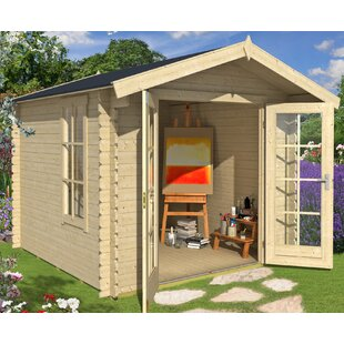 Benton 8 X 8 Ft. Tongue & Groove Summer House By Sol 72 Outdoor