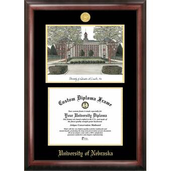 Diploma Frame Deals Cincinnati Christian University Petite Tassel Picture Frame Wayfair