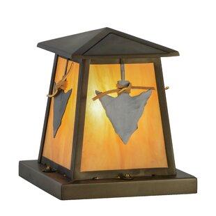 Purchase Greenbriar Arrowhead 1-Light Pier Mount Light By Meyda Tiffany