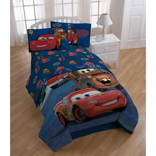 Disney Cars Hometown 3 Piece Microfiber Sheet Set