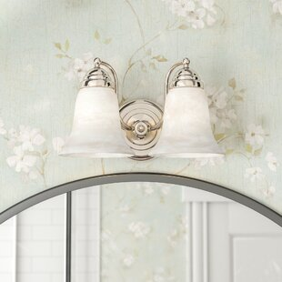 Charlton Home Valencia 2-Light Vanity Light