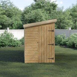 Cambray 5 Ft. W X 12 Ft. D Shiplap Pent Wooden Shed By Union Rustic