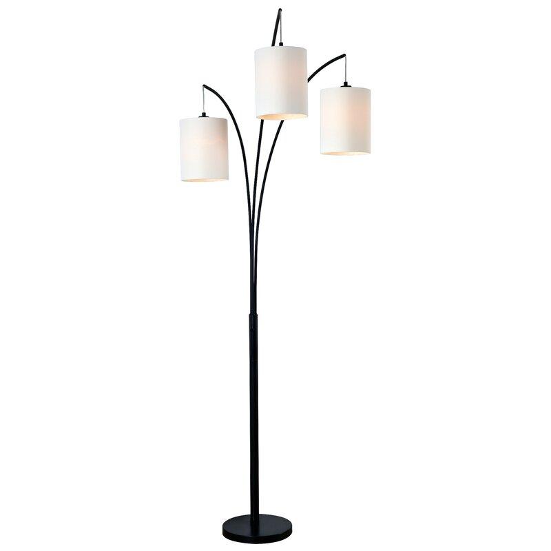 """Zipcode Design Aldora 83.5"""" Tree Floor Lamp & Reviews"""