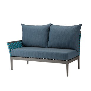 Weathers Left Arm Loveseat by Bungalow Rose