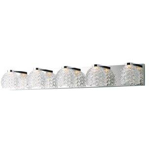 Orren Ellis Elmsford 5-Light LED Vanity Light