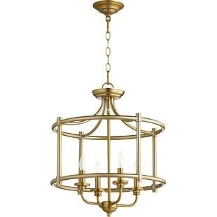Find for Rossington 4-Light Foyer Pendant By Quorum