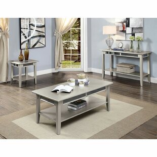 Odonnell 3 Piece Coffee Table Set by Rosdorf Park