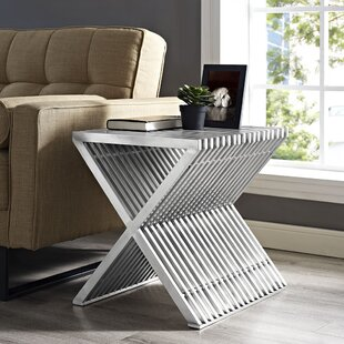 Online Reviews Press End Table by Modway