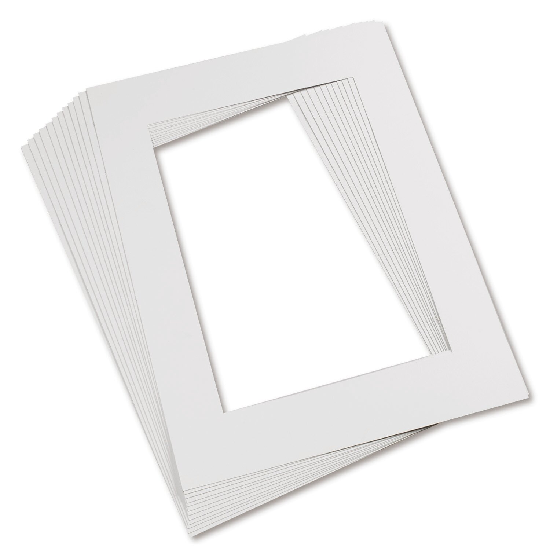 Pacon Creative Products Mat Frames 9 X 12 White | Wayfair