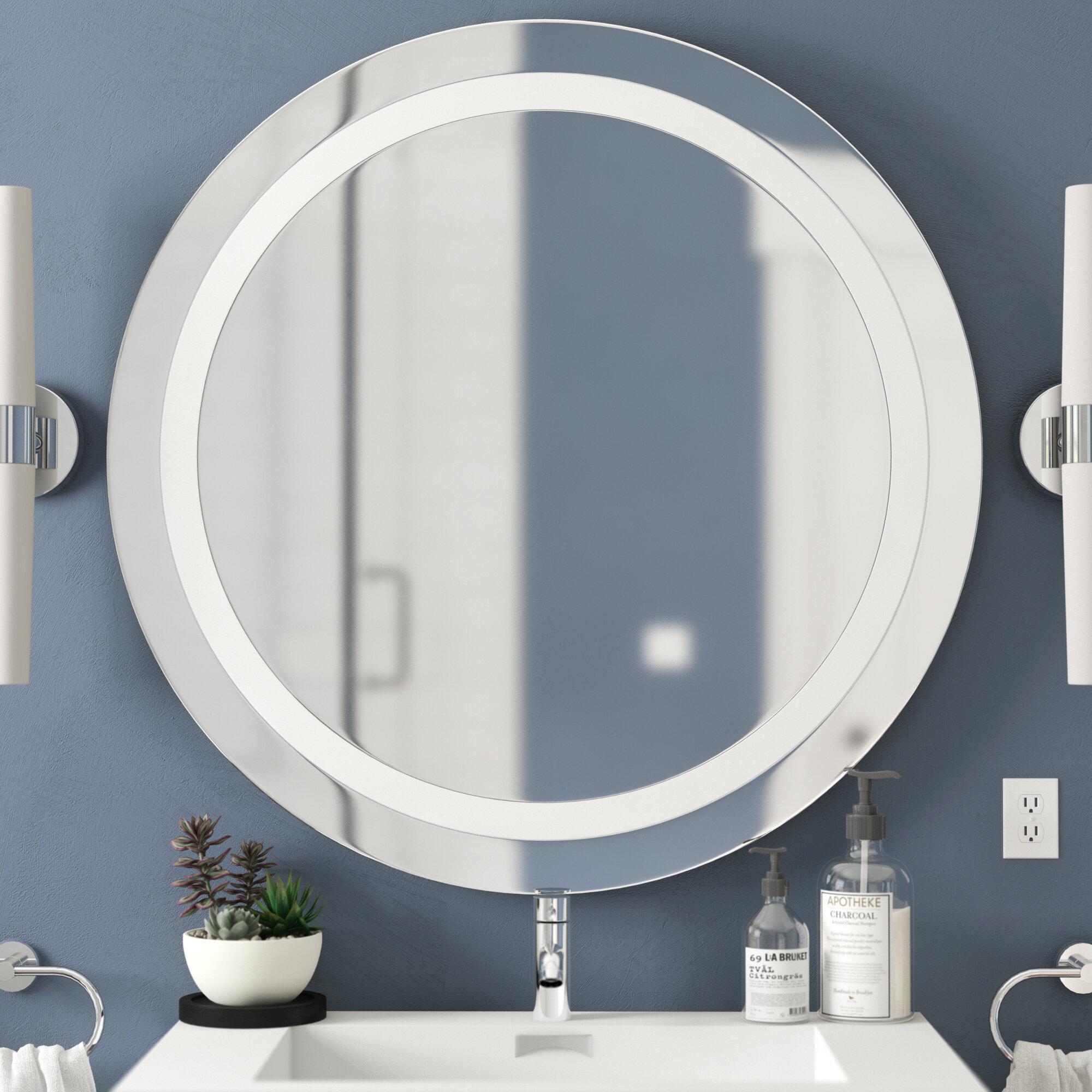 Ehrhart Illuminated Bathroom/Vanity Mirror