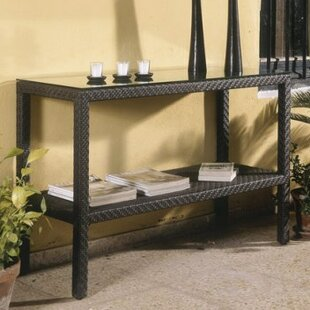 Hospitality Rattan Soho Patio Console Table